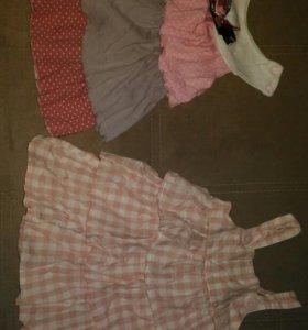 Детские вещи на девочку пакетом
