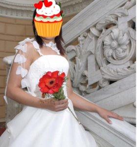 Обворожительное свадебное платье