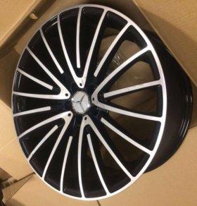 Диски R21 и шины на Mercedes GLE, ML, GL