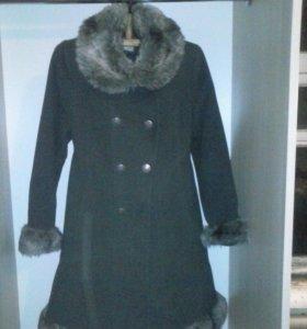 пальто зимние 9-10 лет