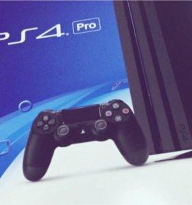 Новая приставка Sony PlayStation 4 Pro 1 TB