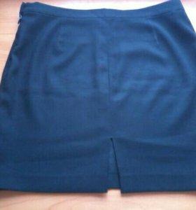 Класическая черная юбочка