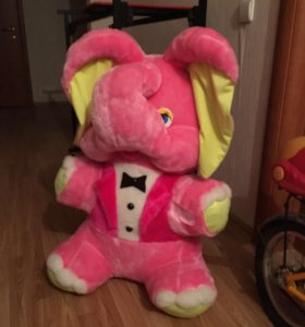 Мягкая игрушка-слон