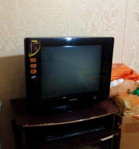 Телевизор и DVD Samsung