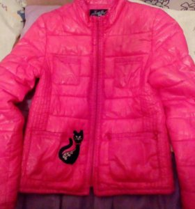 Весенняя куртка на девочку, рост 152 см