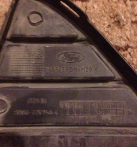 Решетка переднего бампера форд фокус 3