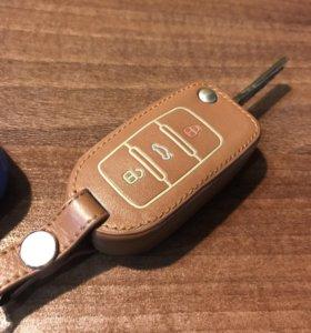 Чехол на ключ от Volkswagen