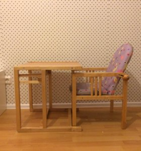 Детский стул -стол трансформер