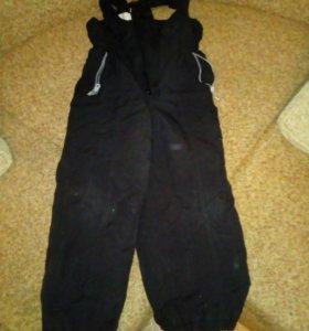 Теплая кофта и штаны комбенезон