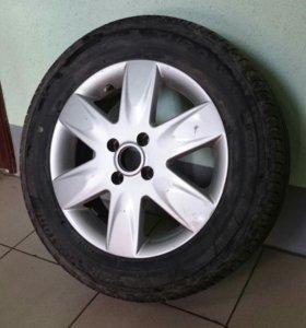 Комплект колес R15 на летней резине