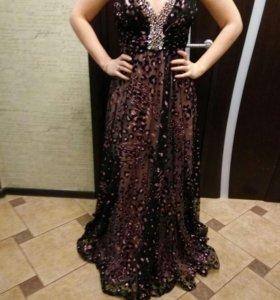 Выходное праздничное нарядное платье