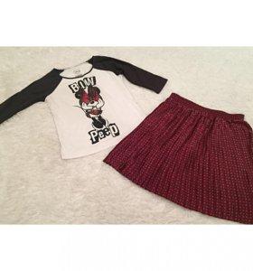 Кофта Мики маус и юбка