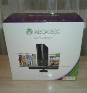 Xbox 360 250гб+kinect