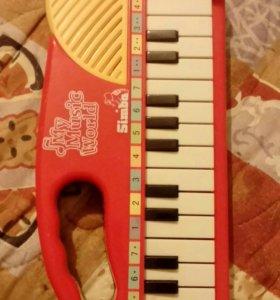 Пианино детская