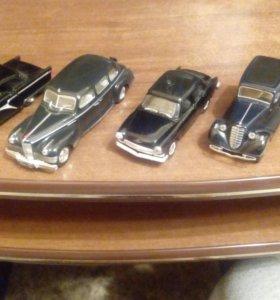 Модели автомобилей СССР м1:43