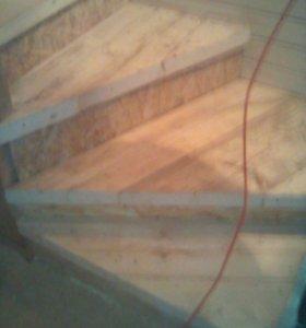 Изготовление лестниц разной сложности