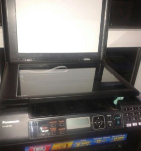 МФУ - копир, сканер и принтер.