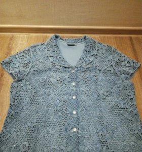 Джинсовая рубашка для женщины