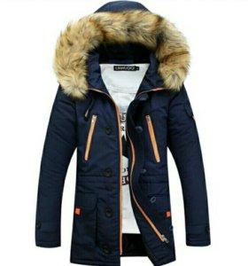 Зимняя мужская куртка (новая)