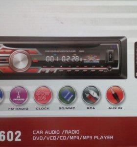 Новая магнитола с dvd диск usb автомагнитола