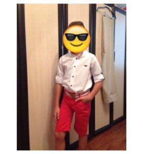 Рубашка и шорты Armani