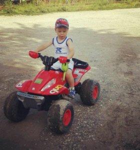 Мотоцикл детский(на зарядке)