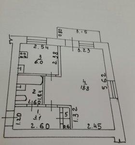 Квартира 1 комнатная от собственника