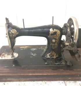 Эксклюзив!АНТИКВАРИАТ швейная машина Singer г.1871