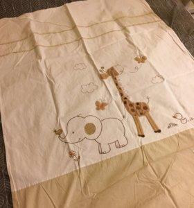 Новый!Постельный комплект для детской кровати