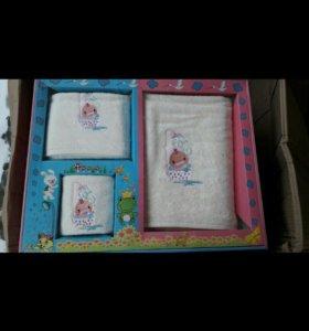 Детский набор полотенец