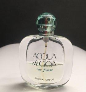 Парфюм ACQUA di GIOIA eau fraiche Giorgio Armani