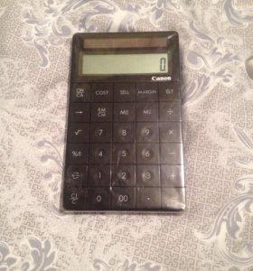 Калькулятор ( Canon )