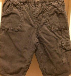 Вельветовые брюки и костюм