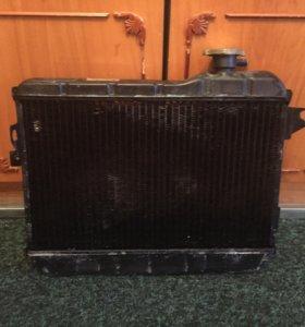 Радиатор медный на ваз 2106