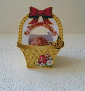 Корзинки для Пасхальных яиц.