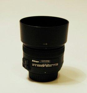 Nikon AF-S Nikkor 50 mm 1.4 G