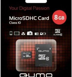Карты памяти новые 8 GB, 16 GB, 32 GB