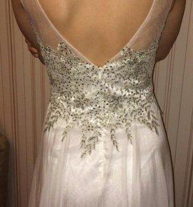 Платье вечернее (свадебное)