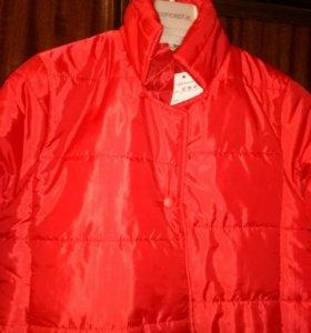 Пальто-куртка удлиненное