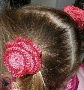 "Резинки для волос ""Цветочки"""