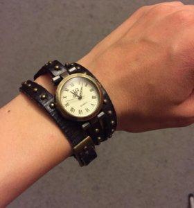 Часы ⌚️ винтажные (кожа)