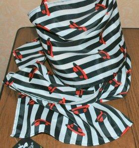 🌺 Оригинальный шейный шарф (лёгкий) новый