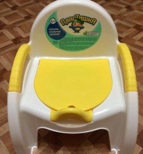 Новый горшок-стульчик Пластишка
