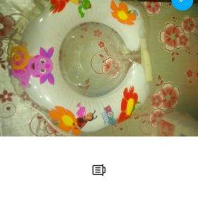 Круг для купания малыша на шею