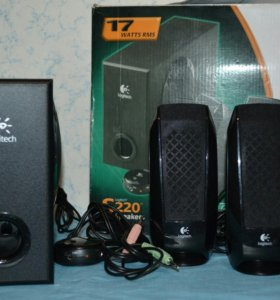 акустическая система Logitech S220 2.1