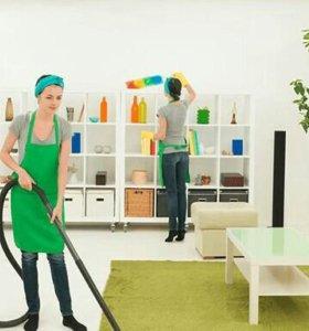 Уборка домов,квартир.