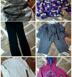 Одежда вещи пакетом размер 116