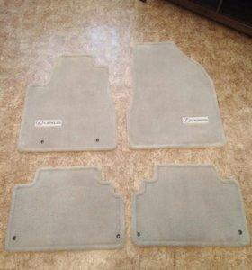 Оригинальные ворсовые коврики Lexus RX