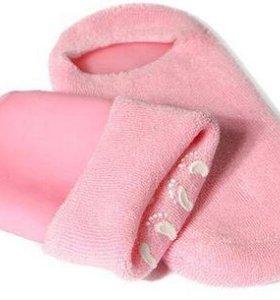 Косметические носочки и руковички
