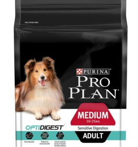 Корм ProPlan OptiDigest для взрослых собак